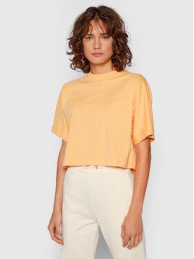 Calvin Klein Jeans Calvin Klein Jeans Póló J20J215641 Narancssárga Boxy Fit