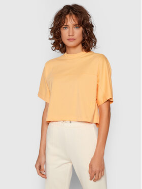 Calvin Klein Jeans Calvin Klein Jeans T-Shirt J20J215641 Pomarańczowy Boxy Fit