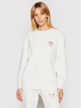 Pinko Pinko Bluza PE 21 PRR 1G1639 Y72Z Biały Regular Fit