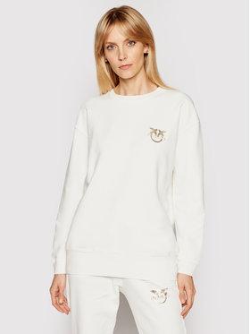 Pinko Pinko Majica dugih rukava PE 21 PRR 1G1639 Y72Z Bijela Regular Fit