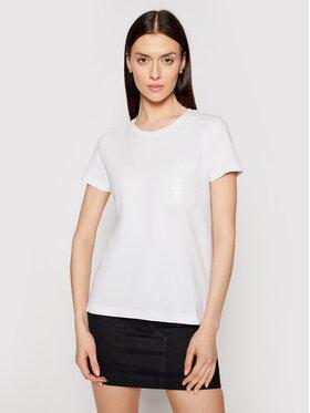 DKNY DKNY T-Shirt P0RAOC2R Bílá Regular Fit