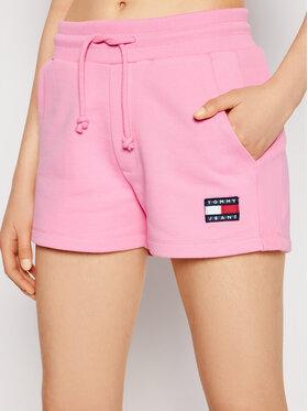 Tommy Jeans Tommy Jeans Спортни шорти Tjw Badge DW0DW09754 Розов Regular Fit