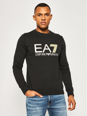 EA7 Emporio Armani EA7 Emporio Armani Bluza 3HPM22 PJ05Z 1200 Czarny Regular Fit