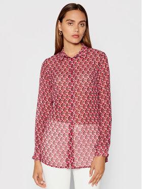 Guess Guess Риза Clouis W1YH0U W70Q2 Розов Regular Fit