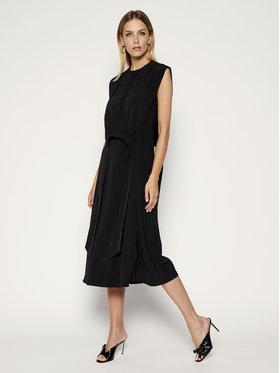 Victoria Victoria Beckham Victoria Victoria Beckham Každodenní šaty Crepe 2220WDR001286A Černá Regular Fit