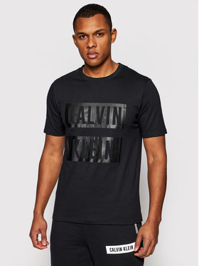 Calvin Klein Performance Calvin Klein Performance T-Shirt Pw 00GMS1K140 Czarny Regular Fit