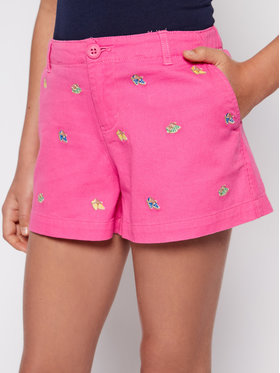 Polo Ralph Lauren Polo Ralph Lauren Szövet rövidnadrág Schif 313784535 Rózsaszín Regular Fit