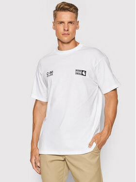 Carhartt WIP Carhartt WIP T-shirt S/S Relevant Parties Vol 1 I029371 Blanc Loose Fit