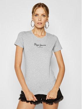 Pepe Jeans Pepe Jeans T-shirt PL502711 Grigio Slim Fit
