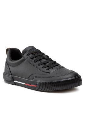 Tommy Jeans Tommy Jeans Sneakersy Core Leather Tjm Vulc EM0EM00806 Čierna