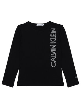 Calvin Klein Jeans Calvin Klein Jeans Bluză IB0IB00605 Negru Regular Fit