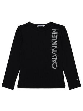 Calvin Klein Jeans Calvin Klein Jeans Μπλουζάκι IB0IB00605 Μαύρο Regular Fit