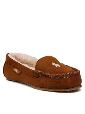 Polo Ralph Lauren Polo Ralph Lauren Papuče Dezi V RF102856 Hnedá