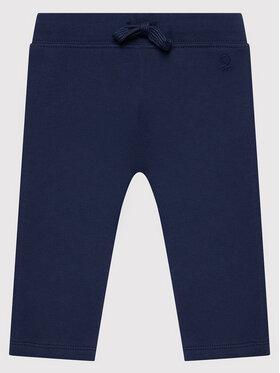 United Colors Of Benetton United Colors Of Benetton Sportinės kelnės 3J70I0046 Tamsiai mėlyna Regular Fit