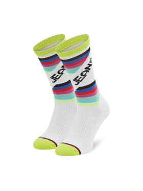 Tommy Jeans Tommy Jeans Ponožky Vysoké Unisex 701210560 Biela