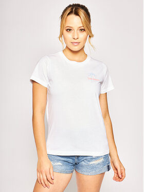 Lee Lee T-Shirt Crew Neck Te L41TEPLJ Weiß Regular Fit