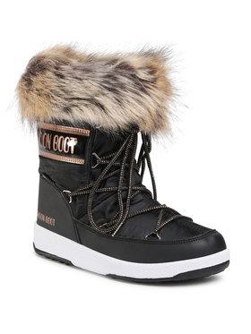 Moon Boot Moon Boot Μπότες Χιονιού Mb Jr Girl Monaco Low Wp 34052400002 D Μαύρο