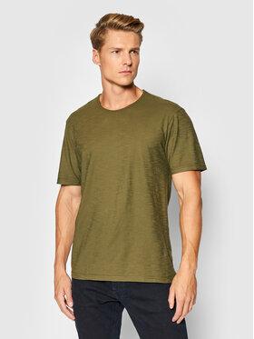 United Colors Of Benetton United Colors Of Benetton T-Shirt 3JE1J19A5 Zelená Regular Fit