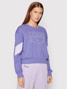 Puma Puma Sweatshirt Rebel 585750 Violett Relaxed Fit