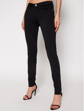 Guess Guess Skinny Fit Jeans Anette W1RA99 W77RD Schwarz Skinny Fit