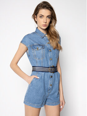 Elisabetta Franchi Elisabetta Franchi Ολόσωμη φόρμα TJ-11D-01E2-V509 Σκούρο μπλε Regular Fit