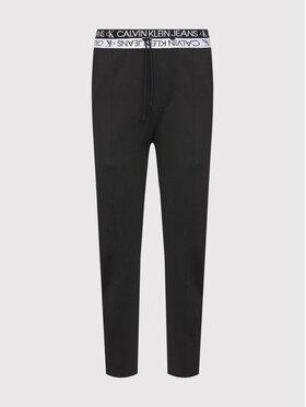 Calvin Klein Jeans Calvin Klein Jeans Melegítő alsó J30J317199 Fekete Slim Fit