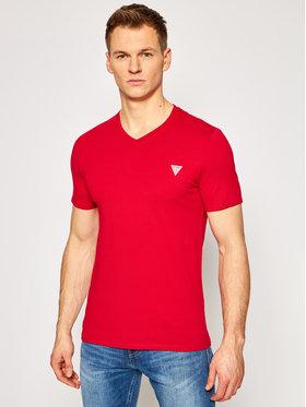 Guess Guess T-Shirt M1RI37 I3Z11 Czerwony Slim Fit