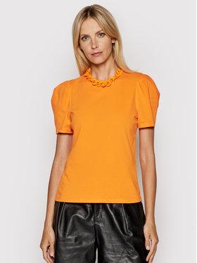 Imperial Imperial Majica TL85BAS Narančasta Regular Fit