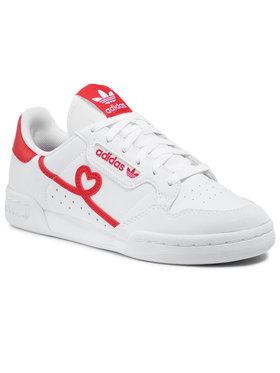 adidas adidas Обувки Continental 80 J FY2578 Бял