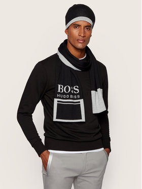Boss Boss Σκούφος Albo_Beanie 50433949 Μαύρο