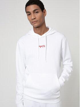 Hugo Hugo Μπλούζα Doley 50443805 Λευκό Regular Fit