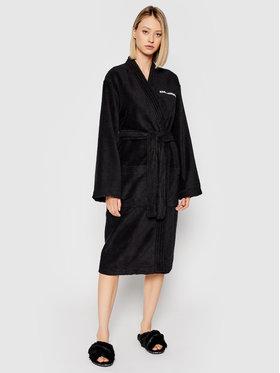 KARL LAGERFELD KARL LAGERFELD Robe de chambre Unisex Logo 211M2180 Noir