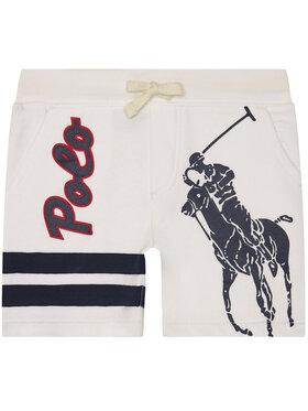 Polo Ralph Lauren Polo Ralph Lauren Medžiaginiai šortai Summer II 323786438001 Balta Regular Fit