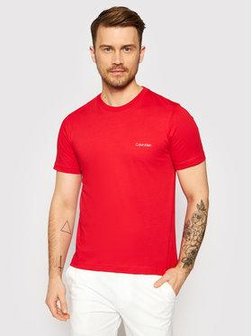 Calvin Klein Calvin Klein T-Shirt Chest Logo K10K103307 Červená Regular Fit