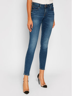 Guess Guess Jeansy Skinny Fit Curve W0YAJ2 D4484 Granatowy Skinny Fit