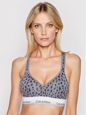 Calvin Klein Underwear Calvin Klein Underwear Podprsenkový top 000QF1654E Sivá