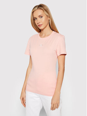 Calvin Klein Jeans Calvin Klein Jeans Футболка J20J217314 Рожевий Slim Fit