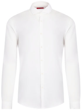 Hugo Hugo Chemise Erriko 50377874 Blanc Extra Slim Fit
