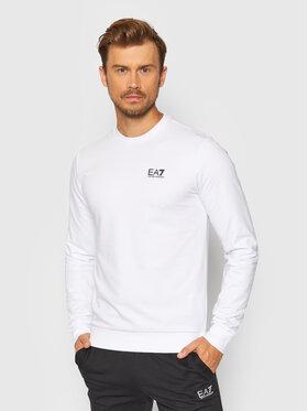 EA7 Emporio Armani EA7 Emporio Armani Sweatshirt 8NPM52 PJ05Z 1100 Blanc Regular Fit