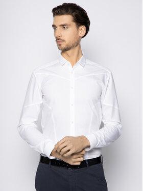 Hugo Hugo Košile Emery 50425910 Bílá Extra Slim Fit
