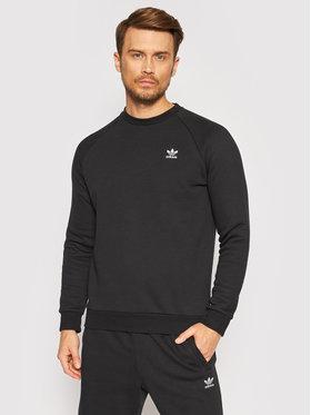 adidas adidas Bluză adicolor Essentials Trefoil H34645 Negru Regular Fit