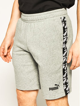 "Puma Puma Szorty sportowe Amplified Shorts 9"" Tr 581416 Szary Regular Fit"