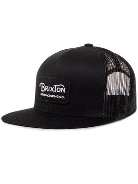 Brixton Brixton Kepurė su snapeliu Grade Mesh Cap 00232 Juoda