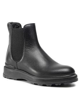 Woolrich Woolrich Členková obuv s elastickým prvkom WFW202.534.3200 Čierna