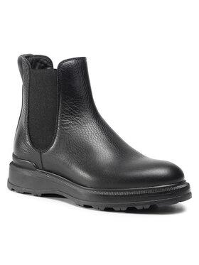 Woolrich Woolrich Kotníková obuv s elastickým prvkem WFW202.534.3200 Černá