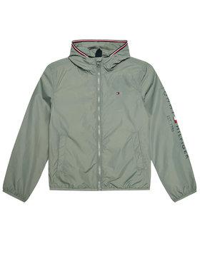 Tommy Hilfiger Tommy Hilfiger Demisezoninė striukė Essential Logo KB0KB06457 D Pilka Regular Fit
