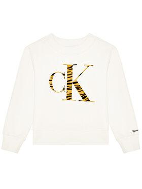 Calvin Klein Jeans Calvin Klein Jeans Bluză Urban Animal IG0IG00695 Bej Regular Fit