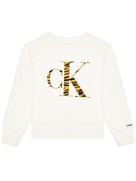 Calvin Klein Jeans Calvin Klein Jeans Mikina Urban Animal IG0IG00695 Béžová Regular Fit