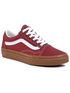 Vans Vans Sneakers aus Stoff Old Skool VN0A4U3BWZ01 Dunkelrot