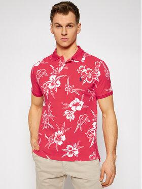 Polo Ralph Lauren Polo Ralph Lauren Polokošeľa Pacific Hibiscus 710835226001 Červená Slim Fit